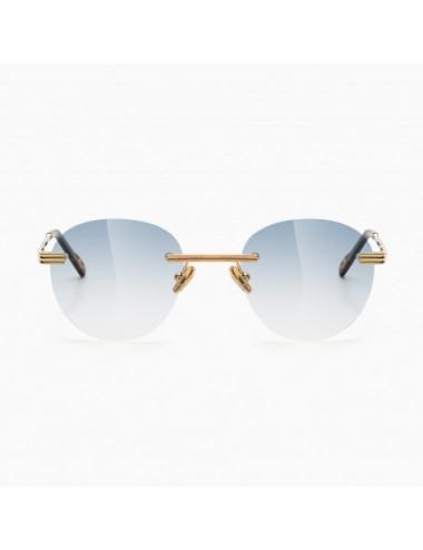 BustOut Eyewear Travis Gold/Cobalt