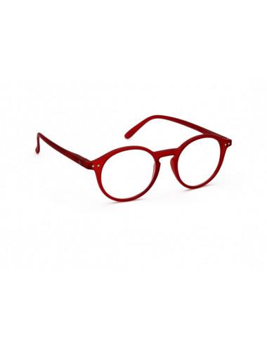 IZIPIZI D Red reading glasses